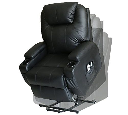 Swell Magic Union Wall Hugger Power Lift Massage Recliner Heated Dailytribune Chair Design For Home Dailytribuneorg